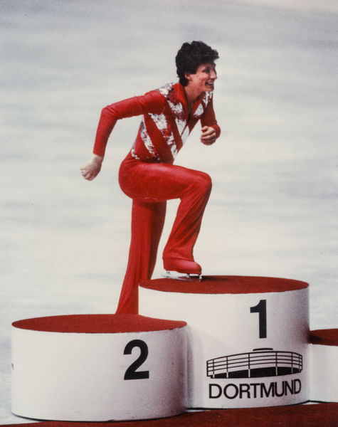 Norbert Schramm again European Champion in figure skating